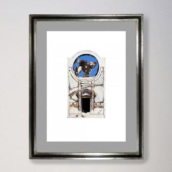Arquitectura. Puerta y pegaso 2
