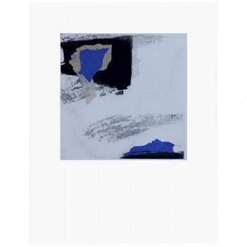 Forma V azul