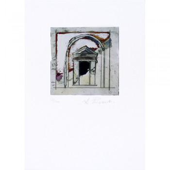 Arquitectura. Puerta con arco 2